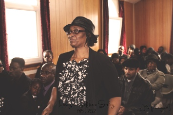 Funeral of Irene Sterling 1