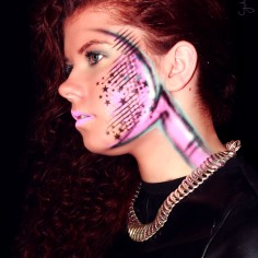 My Teen Model Nicole will be featuring throughout the year. 2015 Sporty Curls/Artistic Urban Images!