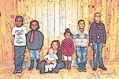 My nephew's & Niece's & Sons